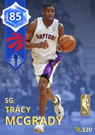'08 Tracy McGrady sapphire card
