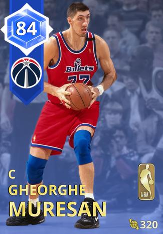 '00 Gheorghe Muresan sapphire card