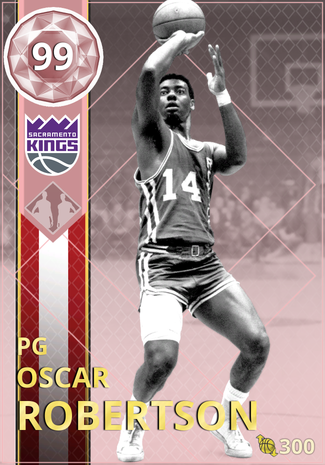 '69 Oscar Robertson pinkdiamond card