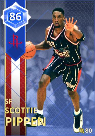 '03 Scottie Pippen sapphire card