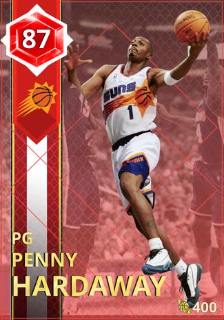 '03 Penny Hardaway ruby card