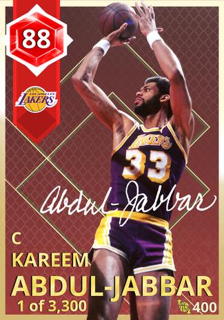 '83 Kareem Abdul-Jabbar ruby card