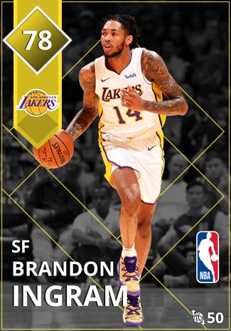 Brandon Ingram gold card