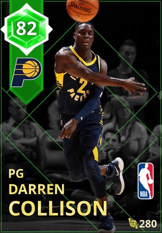Darren Collison emerald card
