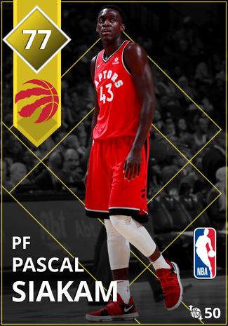 Pascal Siakam gold card