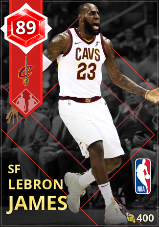 LeBron James ruby card