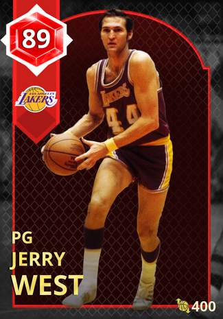 '75 Jerry West ruby card