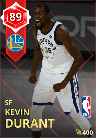 Kevin Durant ruby card
