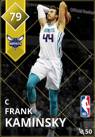 Frank Kaminsky gold card