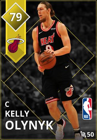 Kelly Olynyk gold card