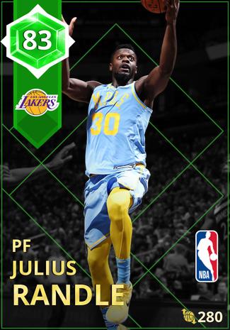 Julius Randle emerald card