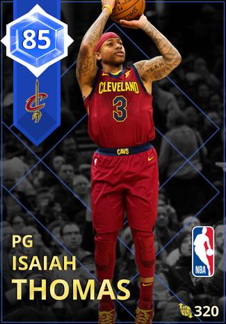 Isaiah Thomas sapphire card