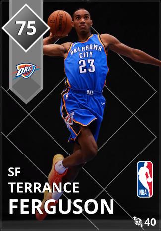 Terrance Ferguson silver card