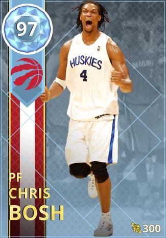 '14 Chris Bosh diamond card