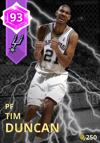 '10 Tim Duncan amethyst card