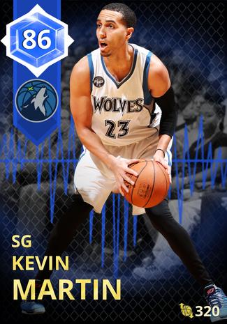 '14 Kevin Martin sapphire card