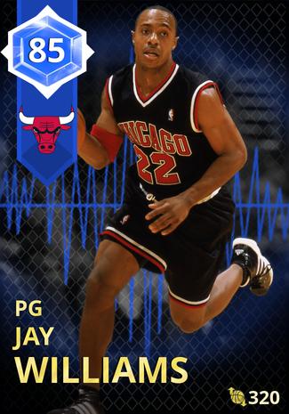 '07 Jay Williams sapphire card