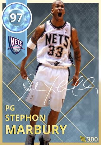 '06 Stephon Marbury diamond card