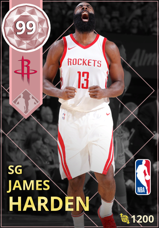 James Harden pinkdiamond card