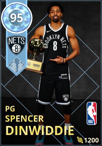 Spencer Dinwiddie diamond card