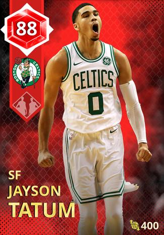 Jayson Tatum ruby card