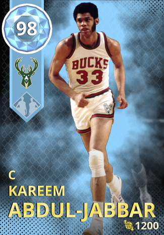 '78 Kareem Abdul-Jabbar diamond card