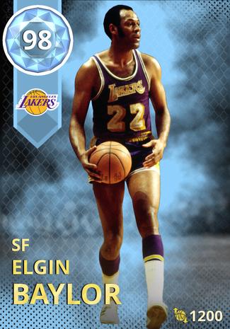 '76 Elgin Baylor diamond card