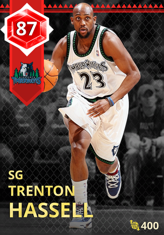 '08 Trenton Hassell ruby card