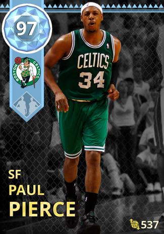 '12 Paul Pierce diamond card