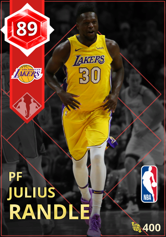 Julius Randle ruby card