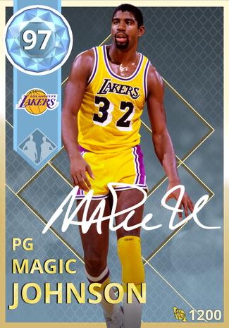 '95 Magic Johnson diamond card