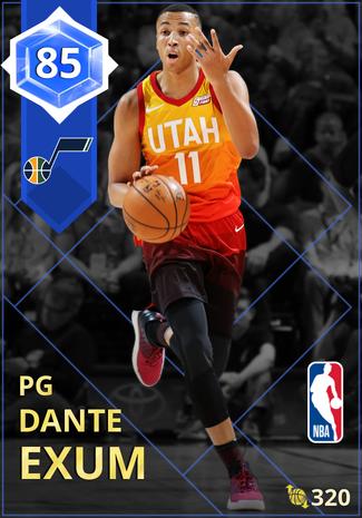 Dante Exum sapphire card