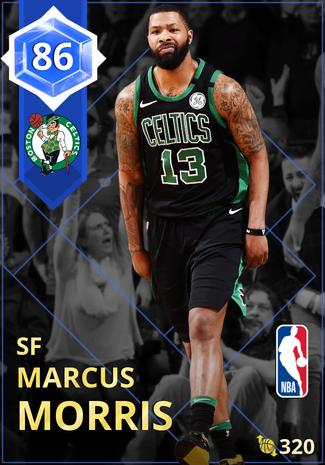 Marcus Morris sapphire card
