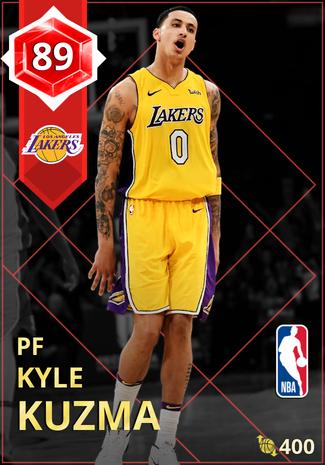 Kyle Kuzma ruby card