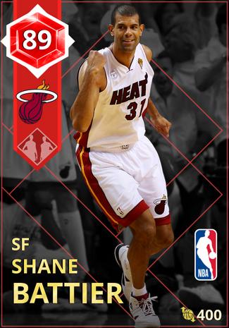 '07 Shane Battier ruby card