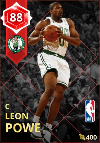'13 Leon Powe ruby card