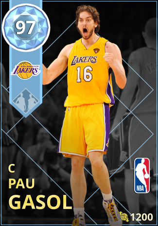 '10 Pau Gasol diamond card
