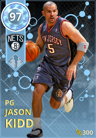 '02 Jason Kidd diamond card