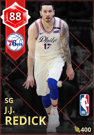 J.J. Redick ruby card