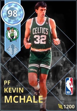 '90 Kevin McHale diamond card