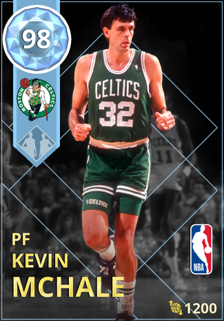 '90 Kevin McHale diamond card