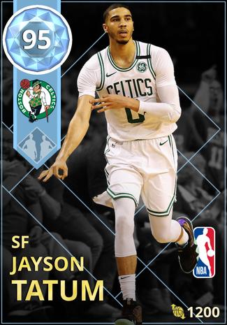 Jayson Tatum diamond card