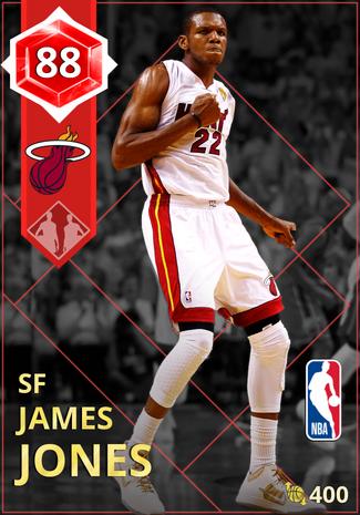 '09 James Jones ruby card