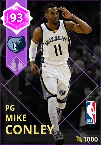 Mike Conley amethyst card