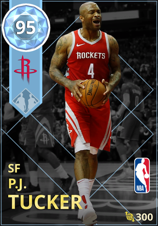 P.J. Tucker diamond card
