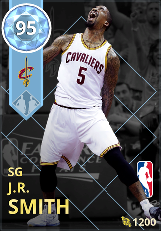 J.R. Smith diamond card