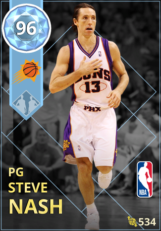 '07 Steve Nash diamond card
