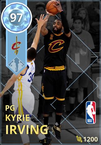'19 Kyrie Irving diamond card
