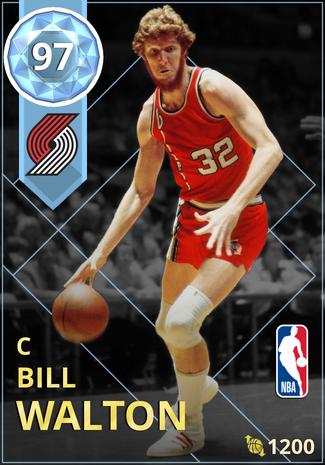 '81 Bill Walton diamond card