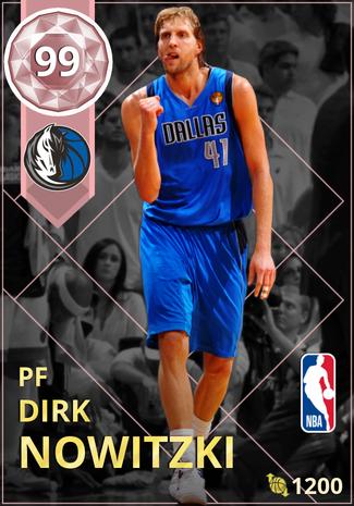 '10 Dirk Nowitzki pinkdiamond card